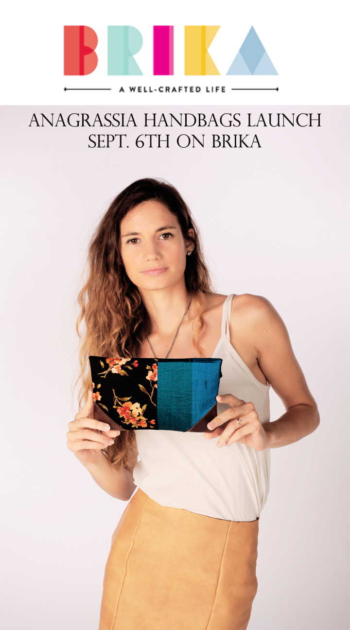 Check it out on Sept. 6th at www.brika.com