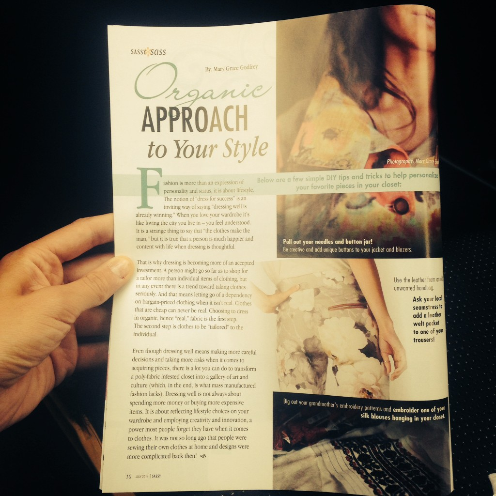 Organic approach to your style Sassy Magazine