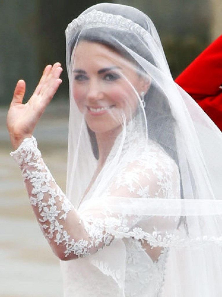 Kate Middleton Silk Tulle Veil