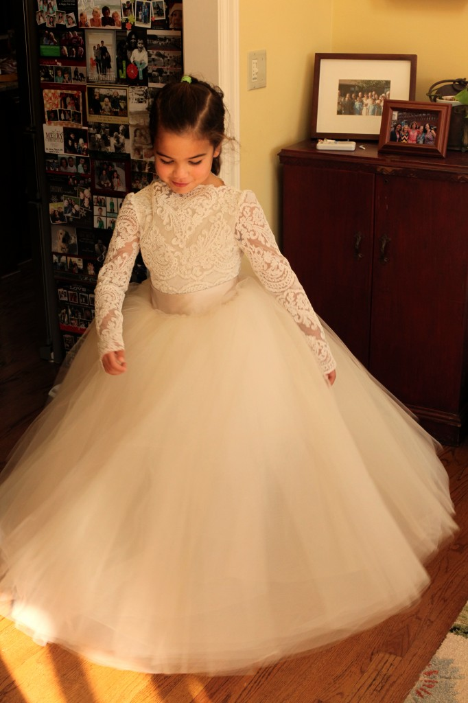 Cream Flower Girl Dresses - Wedding Short Dresses