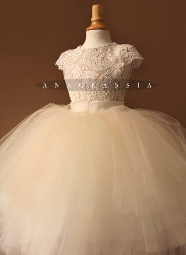 8cd4d7a1f8 Flower Girl Dress Lace Leotard Alencon